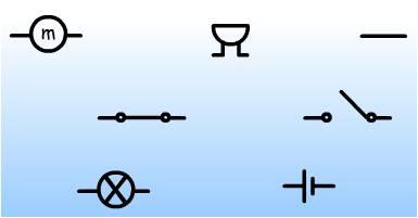 symbolau trydan